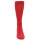 Image of Red Solid Color Men's Dress Socks (front-04)
