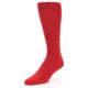 Image of Red Solid Color Men's Dress Socks (side-2-front-08)