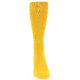 Image of Golden Yellow Solid Color Men's Dress Socks (front-04)