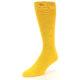 Image of Golden Yellow Solid Color Men's Dress Socks (side-2-front-08)