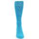 Image of Malibu Blue Solid Color Men's Dress Socks (front-04)