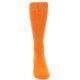 Image of Tangerine Orange Solid Color Men's Dress Socks (front-04)