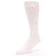 Image of Petal Pink Blush Solid Color Men's Dress Socks (side-2-front-08)