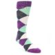 21566-purple-seafoam-charcoal-argyle-men's-dress-socks-statement-sockwear01