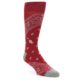 Image of Red Paisley Men's Casual Socks (side-1-front-01)