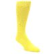 Image of Sunbeam Yellow Solid Color Men's Dress Socks (side-1-front-01)