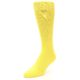 Image of Sunbeam Yellow Solid Color Men's Dress Socks (side-2-front-08)