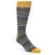 Image of Stripe & Polka Dot Men's Dress Socks Gift Box 3 Pack (front-04)