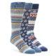 Image of Harvest Men's Dress Socks Gift Box 3 Pack (side-1-front-01)