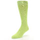 Image of Lime Green Solid Color Men's Dress Socks (side-2-front-08)