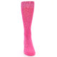 Image of Hot Pink Solid Color Men's Dress Socks (front-04)
