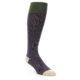 Image of Purple Stripe Men's Over-the-Calf Dress Socks (side-1-front-01)