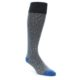 Image of Grey Stripe Men's Over-the-Calf Dress Socks (side-1-front-01)