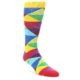Image of Multi-Color Argyle Men's Dress Socks (side-1-front-01)
