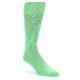 Image of Green Tropical Trees Men's Dress Socks (side-1-front-01)
