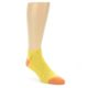 Image of Yellow Solid Color Men's Ankle Socks (side-1-front-01)
