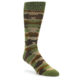 Image of Green Brown Tan Camouflage Men's Dress Socks (side-1-front-01)