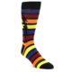Image of Multi-Color Stripe Bolt Men's Dress Socks (side-1-front-01)