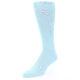 Image of Capri Blue Solid Color Men's Dress Socks (side-2-front-08)