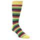 Image of Greens Pink Stripe Men's Dress Socks (side-1-front-01)