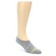 Image of Grey Yellow Men's No-Show Socks 2 Pack (side-1-front-03)