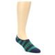 Image of Navy Green Men's No-Show Socks 2 Pack (side-1-front-02)