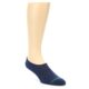 Image of Navy Green Men's No-Show Socks 2 Pack (side-1-front-03)
