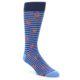 Image of Navy Blue Orange Crabs Men's Dress Socks (side-1-front-01)