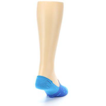 Image of Blue Sharks Men's No-Show Socks (side-1-back-20)