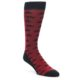 Image of Red Black Mustache Men's Dress Socks (side-1-front-01)