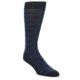Image of Navy Black Mustache Men's Dress Socks (side-1-front-01)