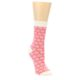 Image of Pink Flowers Women's Dress Socks (side-1-front-01)