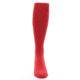 Image of Red Solid Men's Over-the-Calf Dress Socks (front-04)