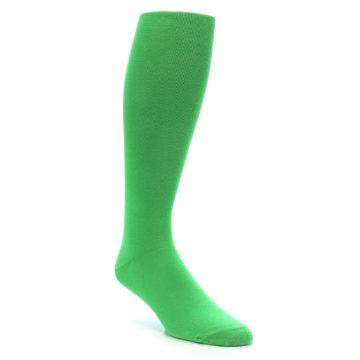Kelly Green Men's Over the Calf Dress Socks