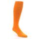 Tangerine Orange Men's Over the Calf Dress Socks