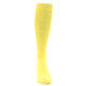 Image of Sunbeam Yellow Solid Men's Over-the-Calf Dress Socks (front-04)