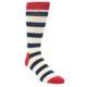 Image of Red Navy White Men's Dress Socks Gift Box 4 Pack (side-1-front-03)