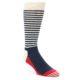 Image of Red Navy White Men's Dress Socks Gift Box 4 Pack (front-05)