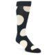 Image of Black Grey White Men's Dress Socks Gift Box 4 Pack (side-1-front-02)