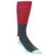 Image of Navy Blue Red Men's Dress Socks Gift Box 4 Pack (front-05)