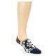 Image of Black Grey Brown Men's Liner Socks (side-1-front-01)