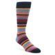 Unsimply Stitched Red Multi-color Stripe Socks