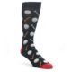 Socks with golf balls and tees on them