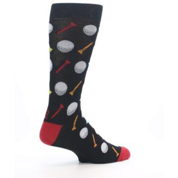 Image of Golf Balls & Tees Men's Dress Socks (side-1-23)