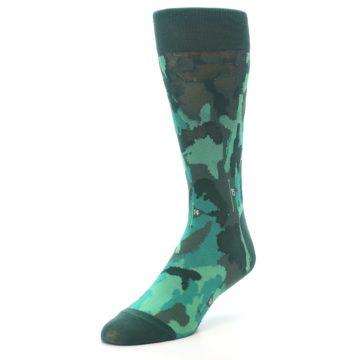 Image of Golf Course Men's Dress Socks (side-2-front-08)