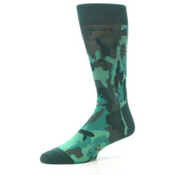 Image of Golf Course Men's Dress Socks (side-2-10)