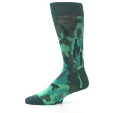 Image of Golf Course Men's Dress Socks (side-2-11)
