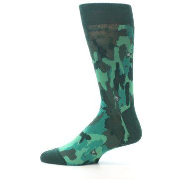 Image of Golf Course Men's Dress Socks (side-2-12)