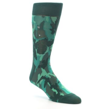 Image of Golf Course Men's Dress Socks (side-1-27)