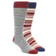 PACT Crosswalk Crew Socks Two Pack Men's